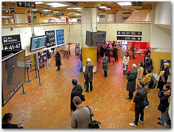 union station, concourse, revitalization, project, transit, go, construction, toronto, city, life