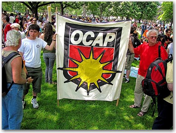 ocap, protest, g20, allan gardens, toronto, city, life