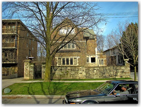 rosedale, historic house, toronto, city, life