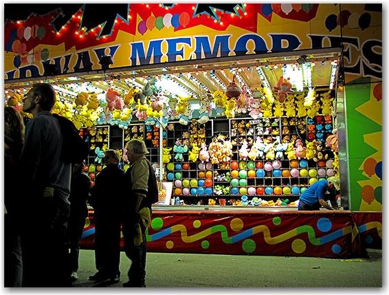 balloon pop, carnival, fair, cne, canadian national exhbition, toronto, city, life