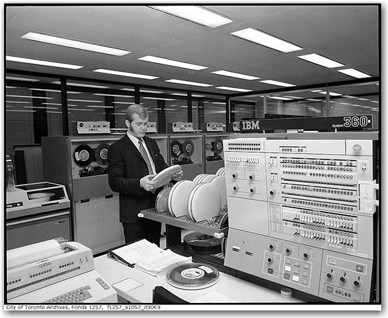 toronto archives, computers, computing, history, historic, toronto, city, life