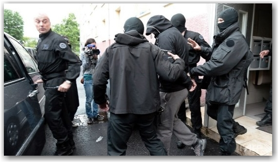 France arrests
