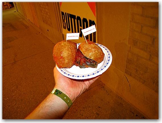meatballs, sliders, food, pride, church street, toronto, city, life, blog