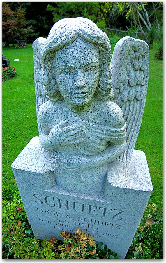 angel, grave, statue, mount pleasant cemetery, toronto, city, life