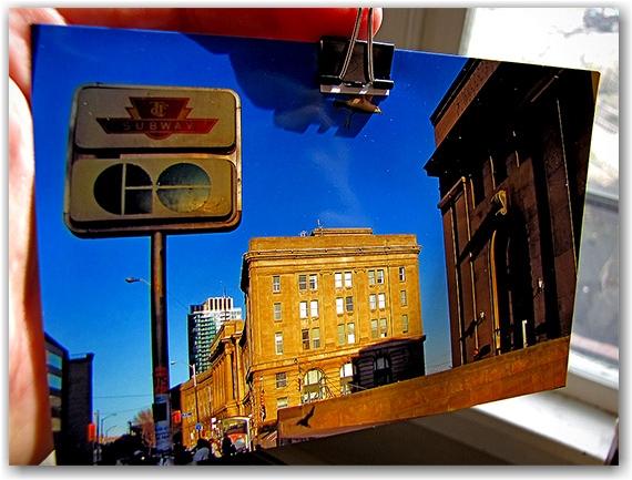 photo, union station, paper clip, toronto, city, life