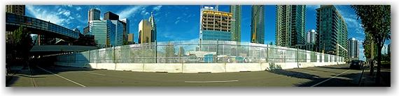 g20, security, perimeter, fence, fencing, lower simcoe street, toronto, city, life