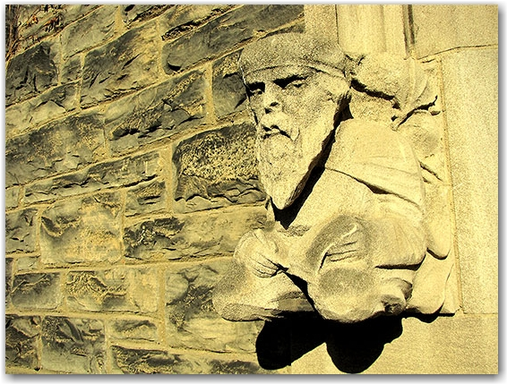 university of toronto, st. george campus, stone carving, entrance, toronto, city, life