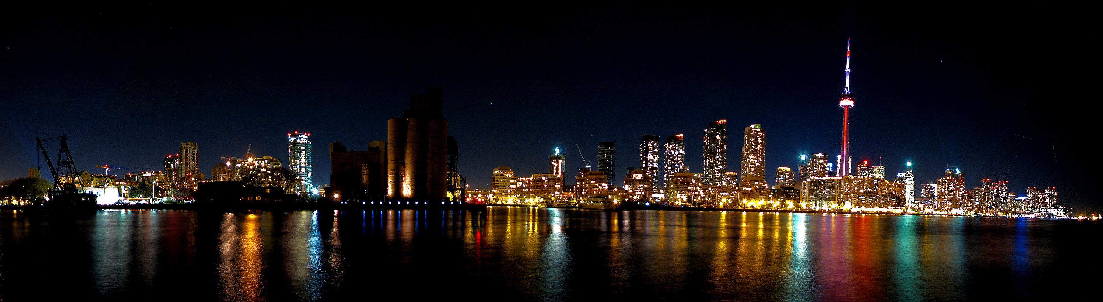 city night skyline panorama - photo #41