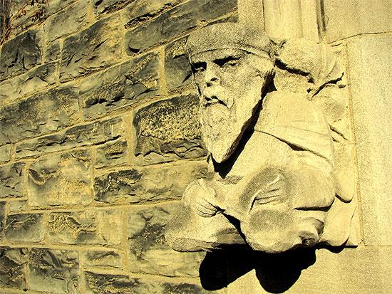 university of toronto, st. george campus, stone carving, entrance, toronto, city, life