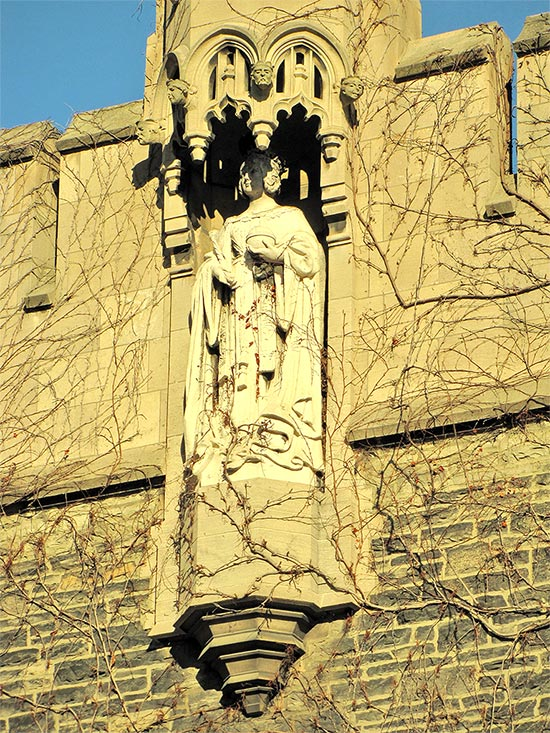 university of toronto, queen victoria, st. george campus, stone carving, entrance, toronto, city, life