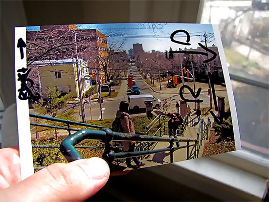 photo, postcard, toronto, city, life