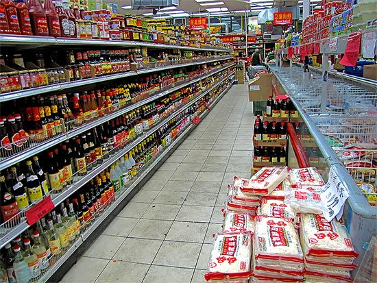 chinatown, shop, store, soya sauce, aisle, toronto, city, life