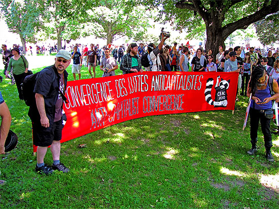 anti-capitalist convergence, g20, protests, protesters, allan gardens, toronto, city, life