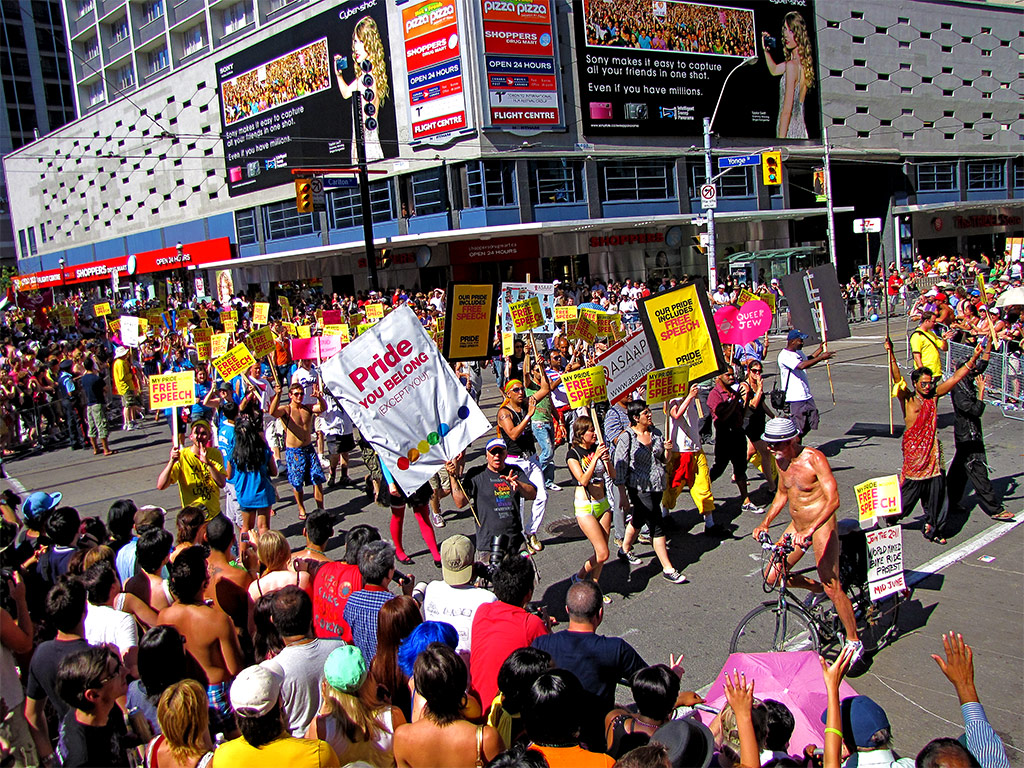 from Jayvion gay parade toronto 2010