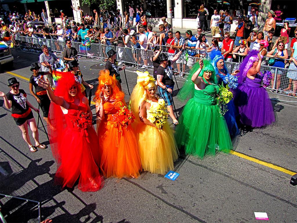 from Vaughn gay parade 2010