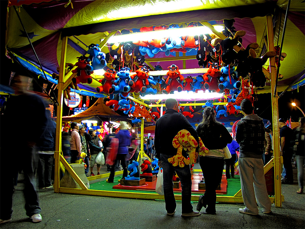 Midway carnival  Etsy
