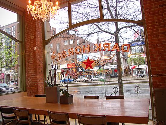 dark horse espresso bar, spadina avenue, coffee, toronto, city, life, blog