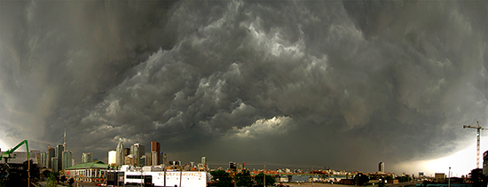 storm, weather, panorama, skyline, toronto, city, life, blog