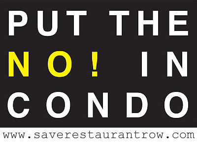 Save Restaurant Row!
