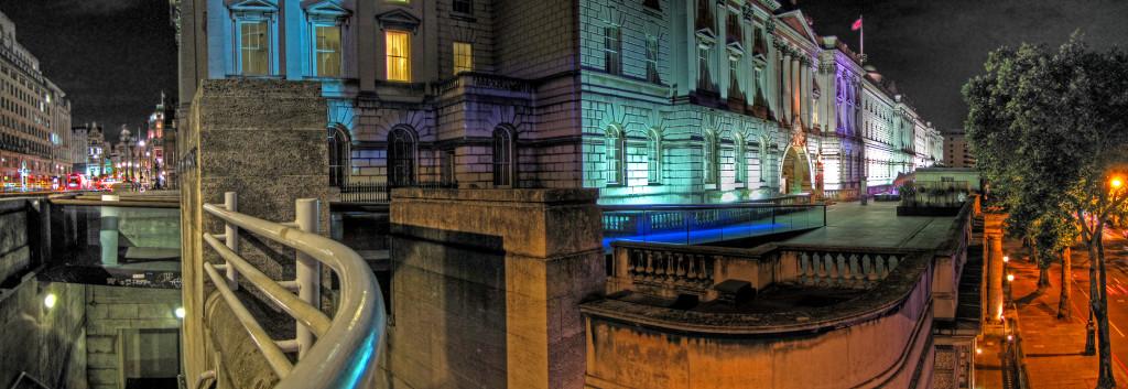 Somerset House after dark