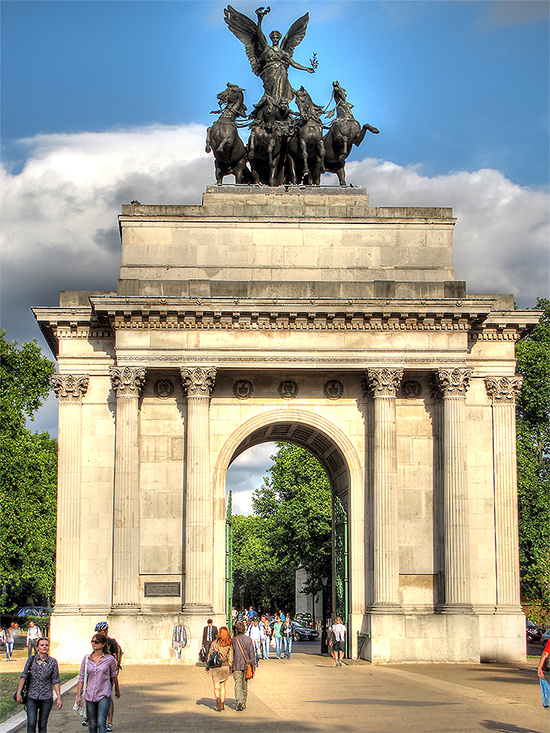 Memorial Gates at Green Park